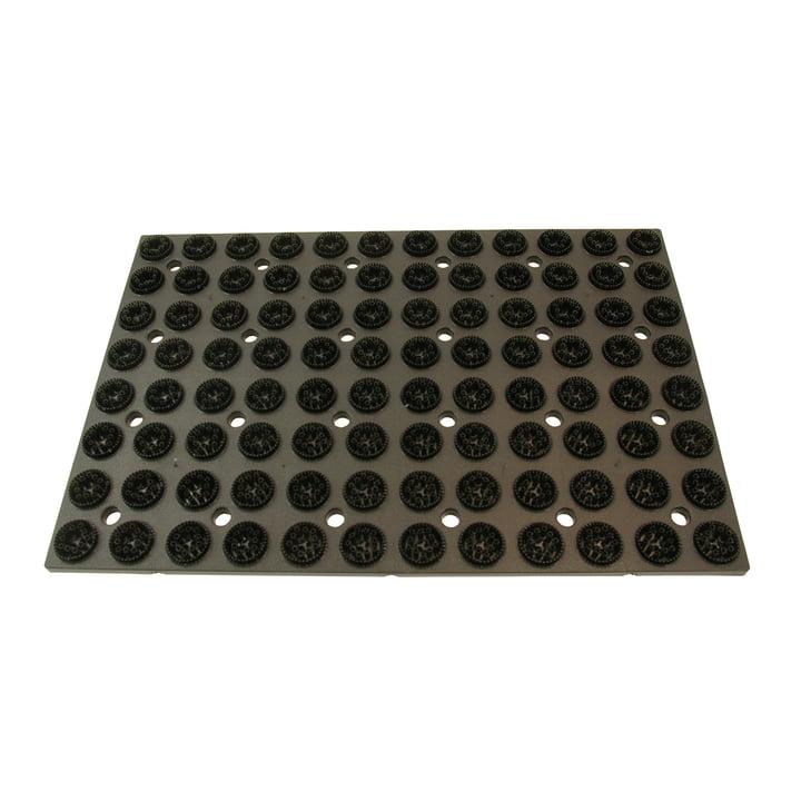 Radius Design - plastic mat with spare brushes, black