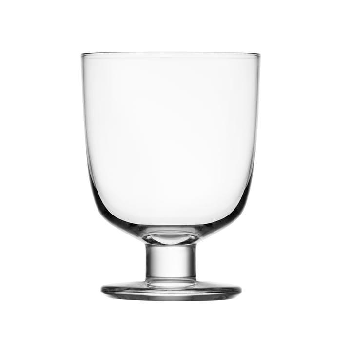 Lempi glass goblet 34 cl from Iittala in clear