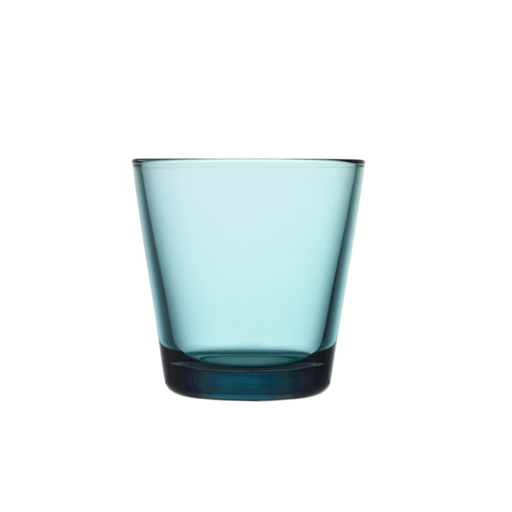 Iittala - Drinking Kartio glass 21 cl, sea blue