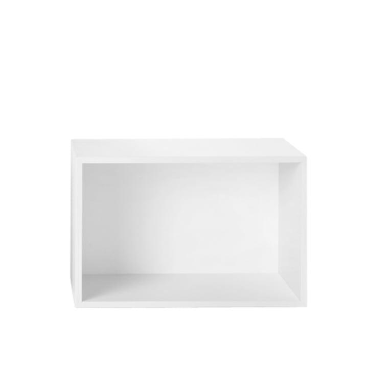 Muuto - Mini Stacked shelf system, large, white