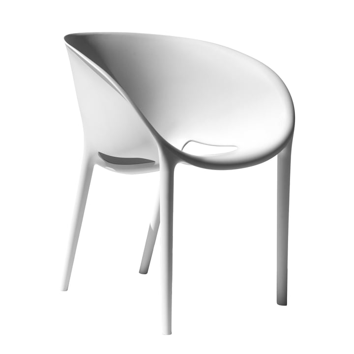 Soft Egg Chair - white