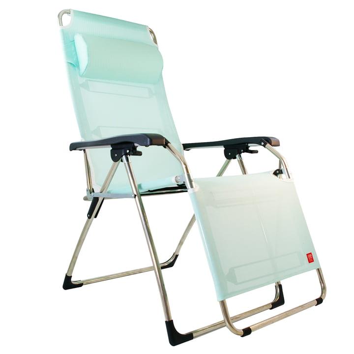 Amida Aluminium Relax Lounger in Aqua
