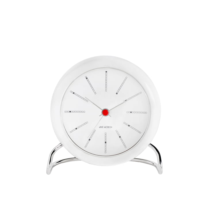Rosendahl - AJ Bankers alarm clock, white