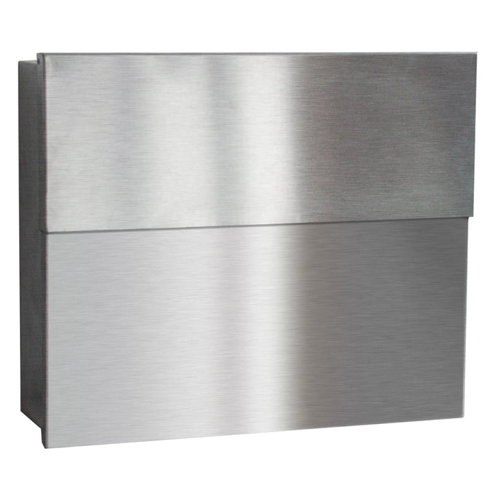 Letterbox Letterman XXL II by Radius Design in Stainless Steel