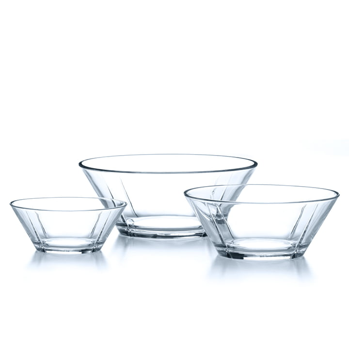 Rosendahl - Grand Cru Glass bowl-Set, 3 tlg.