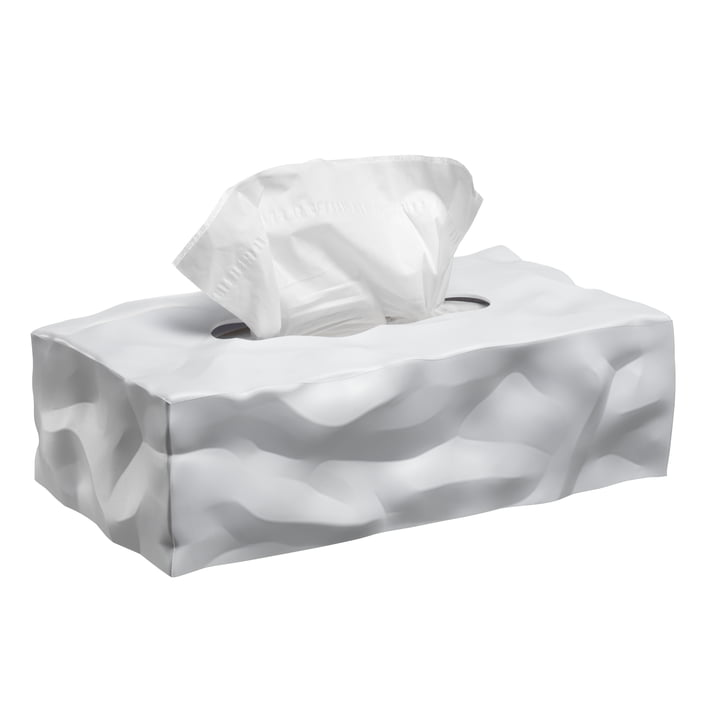 Wipy 2 -Cube tissue box from Essey in white