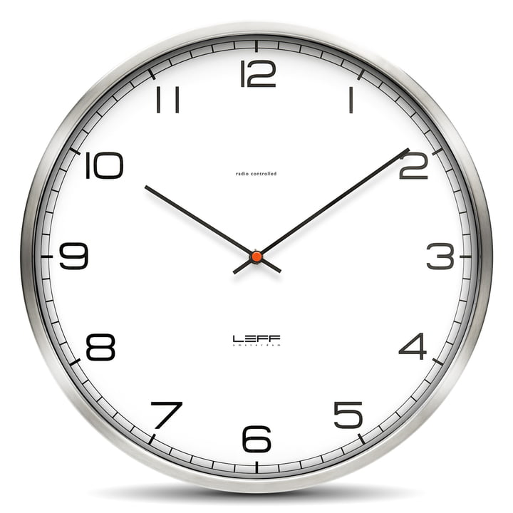 Leff amsterdam - One35rc clock, with numbers