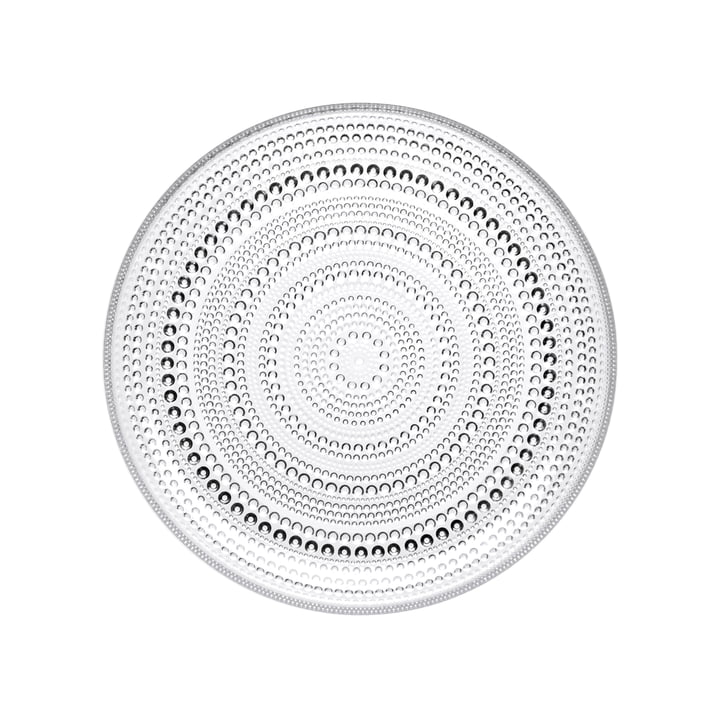 Kastehelmi Plate Ø 17 cm from Iittala in clear