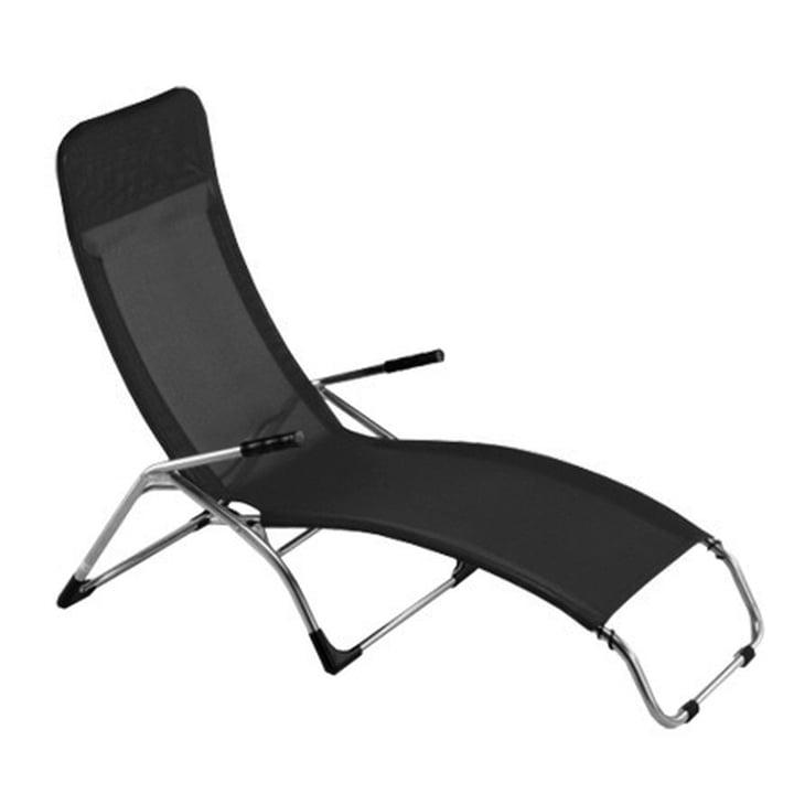 Fiam - Deck Chair Samba, black