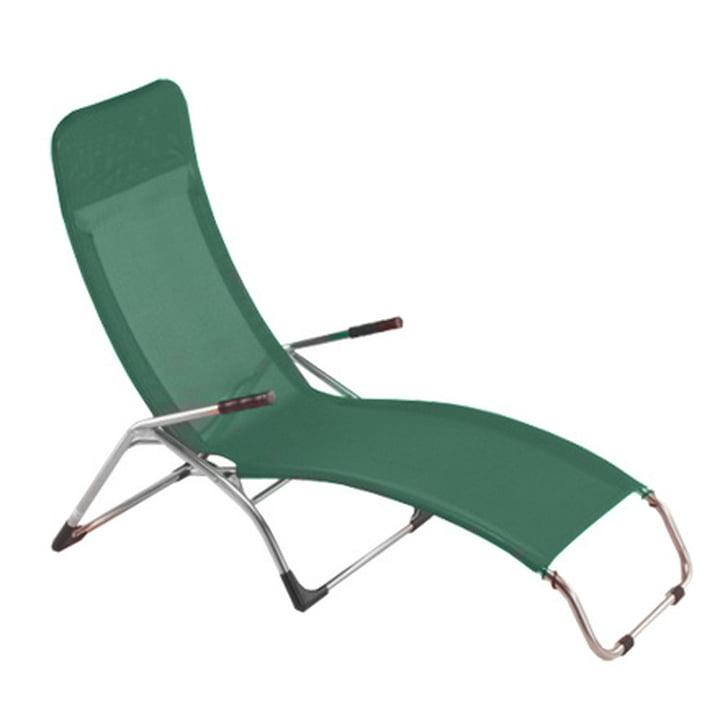 Fiam - Deck Chair Samba, dark green