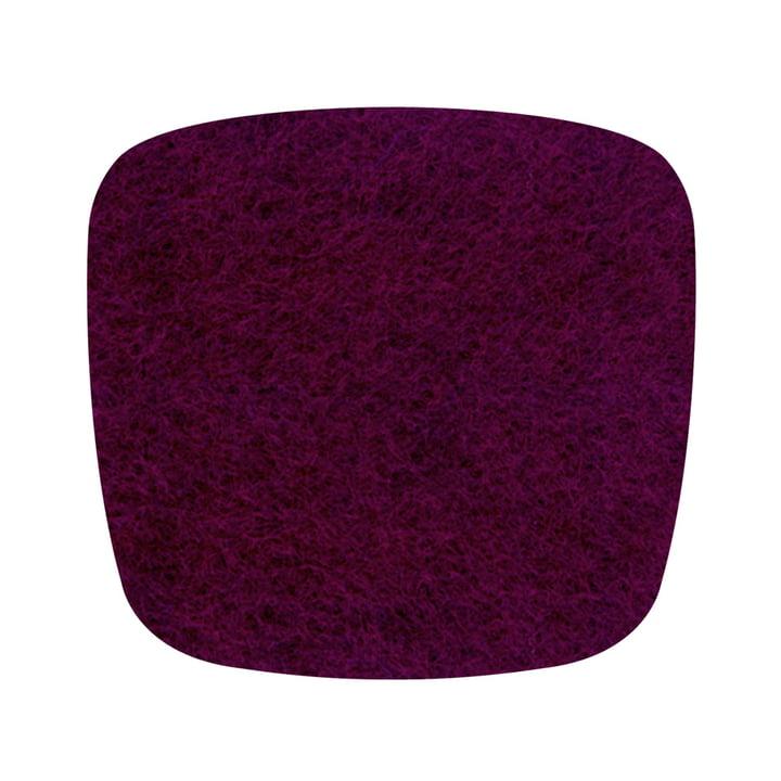 Hey Sign - felt cushion Eames Plastic Armchair, eggplant 5mm