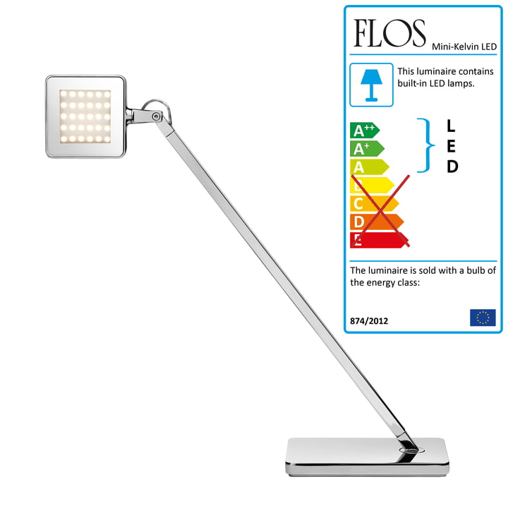 Flos - Minikelvin LED table lamp, silver