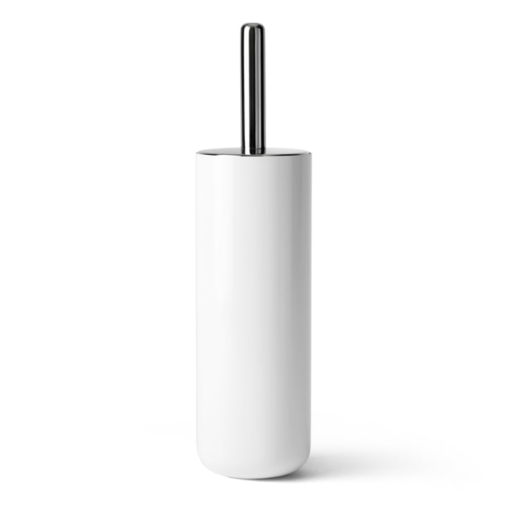 Menu - toilet brush, white