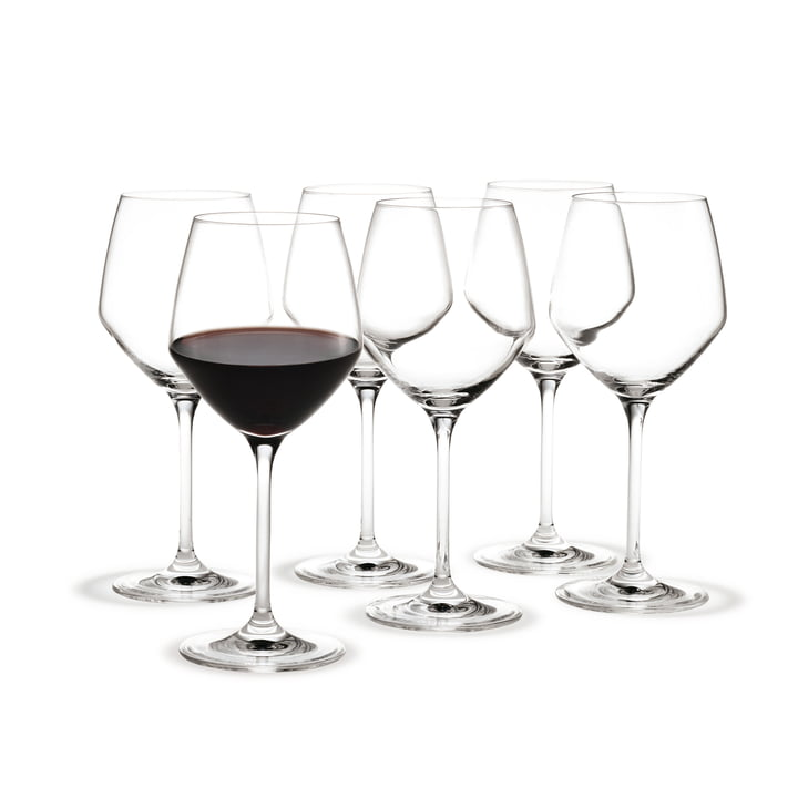 Holmegaard - Perfection red wine glasses, 430 mL (set of 6)