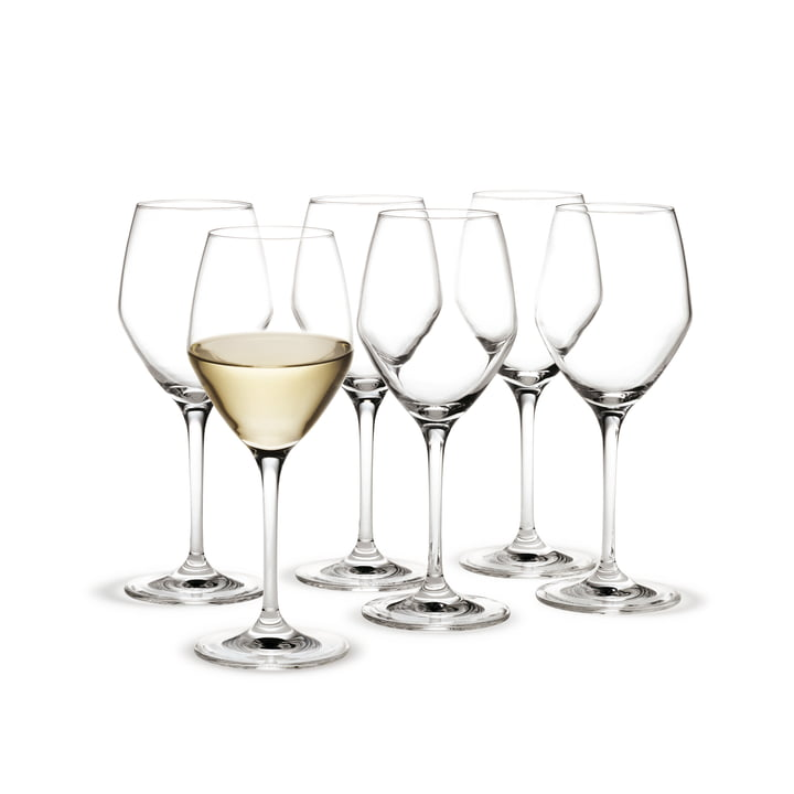 Holmegaard - Perfection white wine glasses, 320 mL (set of 6)