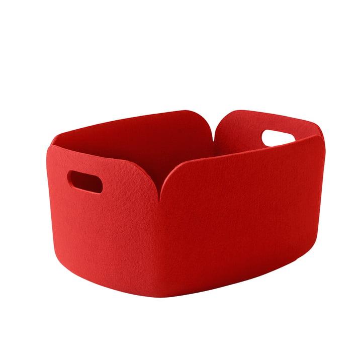 Muuto - Restore basket, red