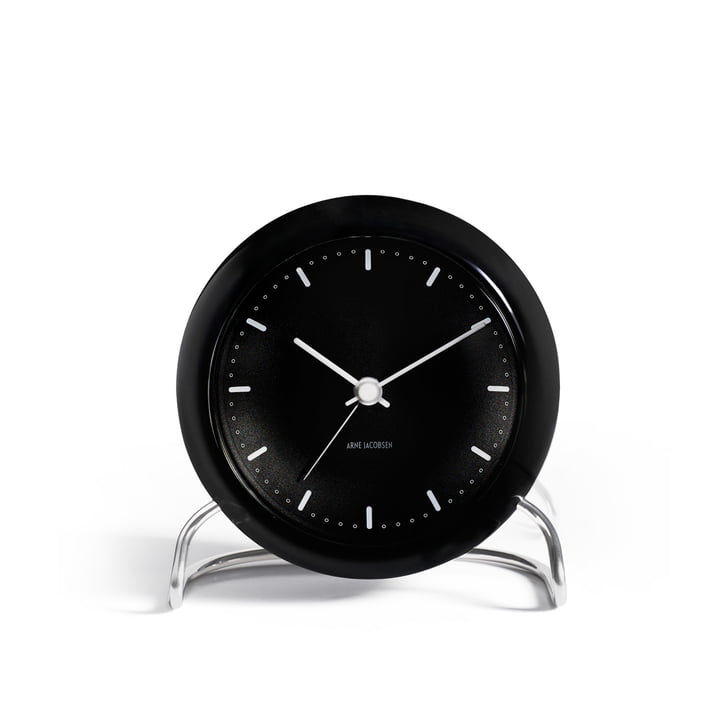 AJ City Hall Alarm clock from Rosendahl in black