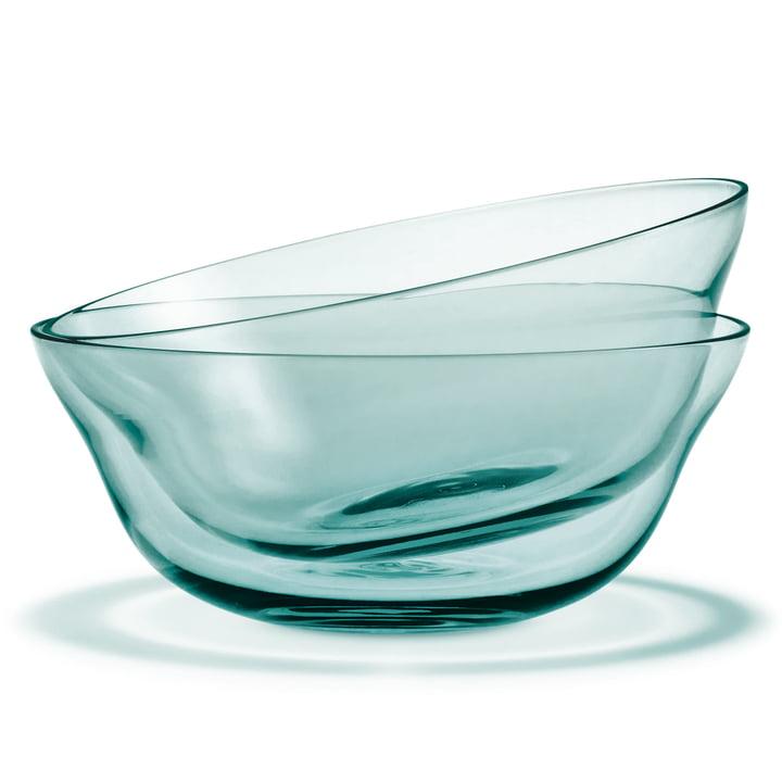Holmegaard - Future bowl Ø 13cm, aquamarine