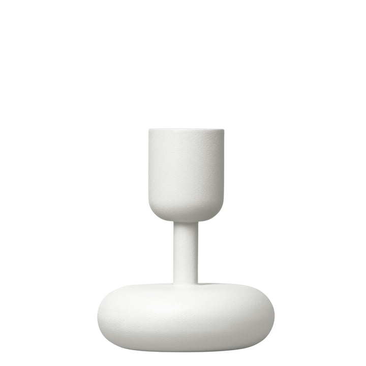 Iittala - Nappula candle holder 107 mm, white