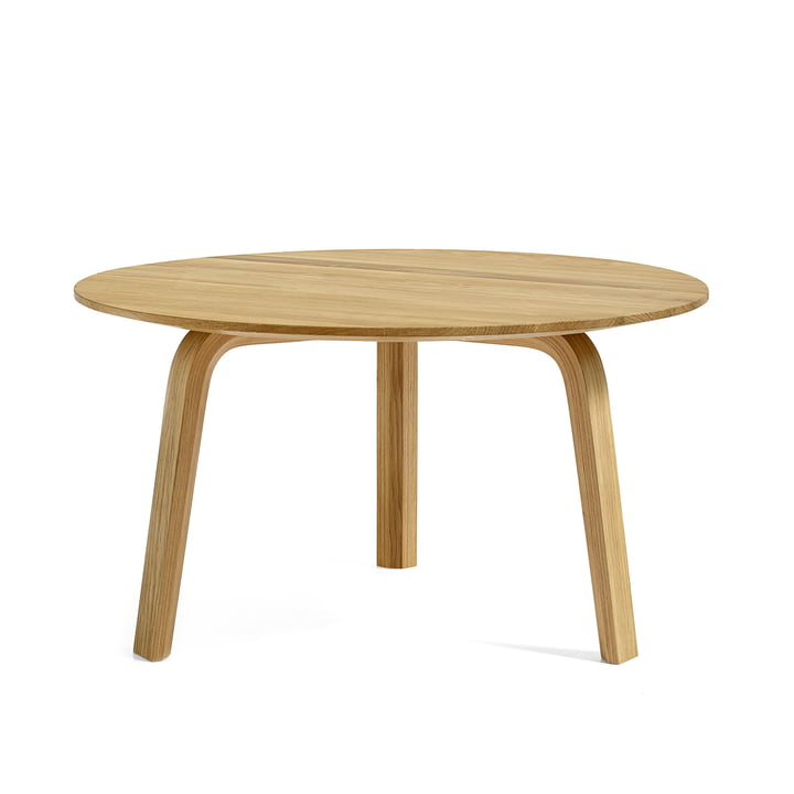 Hay - Bella couch table, oak Ø 60 x H 32