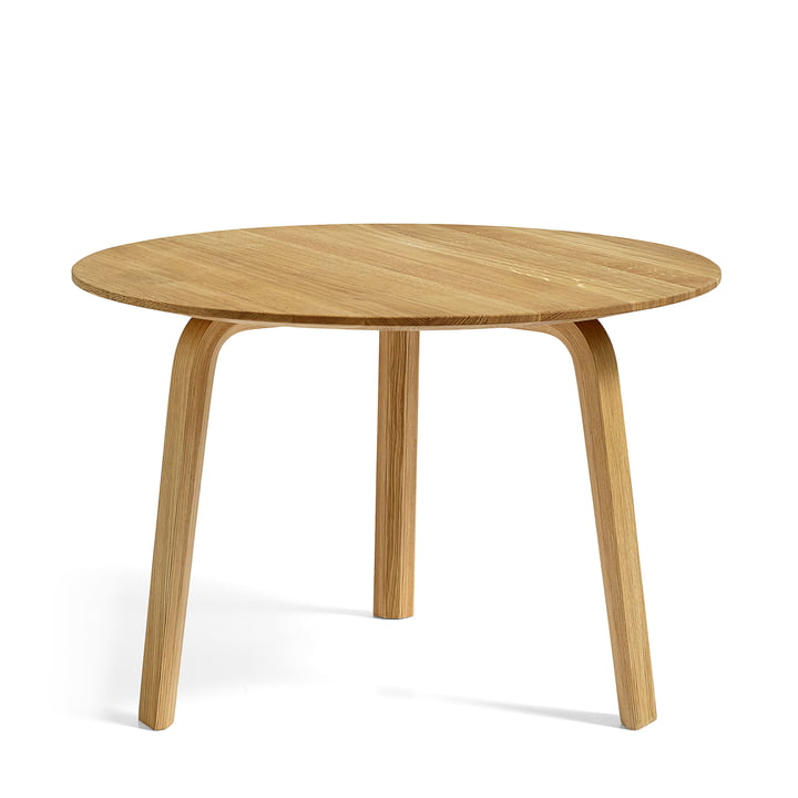 Bella Coffee table Ø 60 cm / H 39 cm from Hay in natural oak