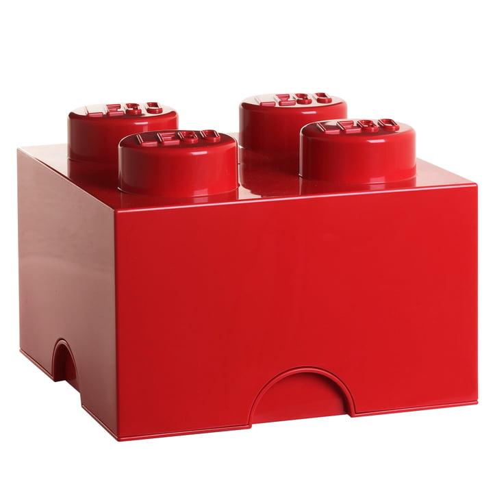 Lego - Storage Box 4, red