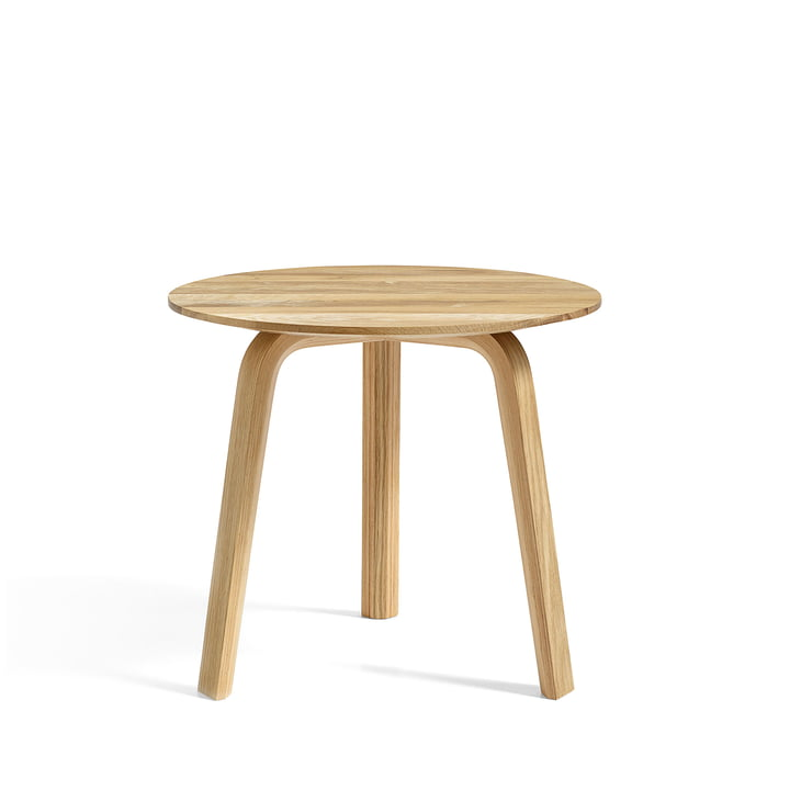 Bella Side table Ø 45 cm / H 39 cm from Hay in oiled oak