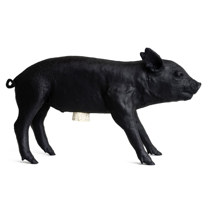 Areaware - Pig Bank, matte black