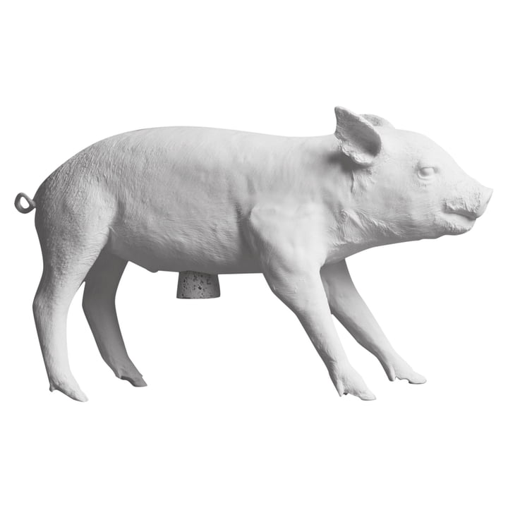 Areaware - Pig Bank, matte white