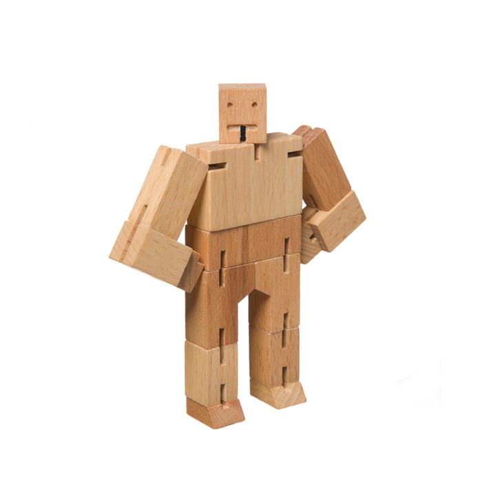 The Cubebot from Areaware , micro, beech wood