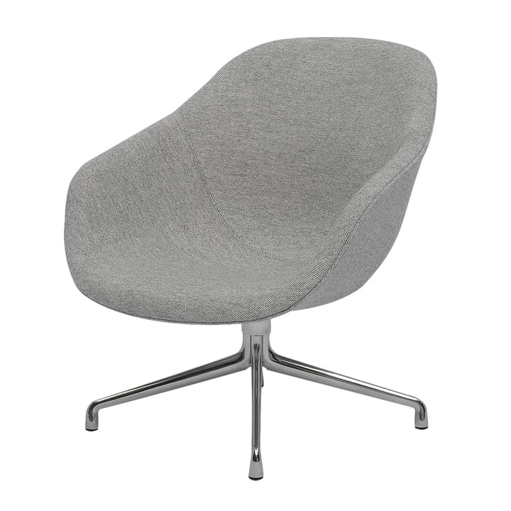 About A Lounge Chair, Low / AAL 81 by Hay in Remix light gray (123)