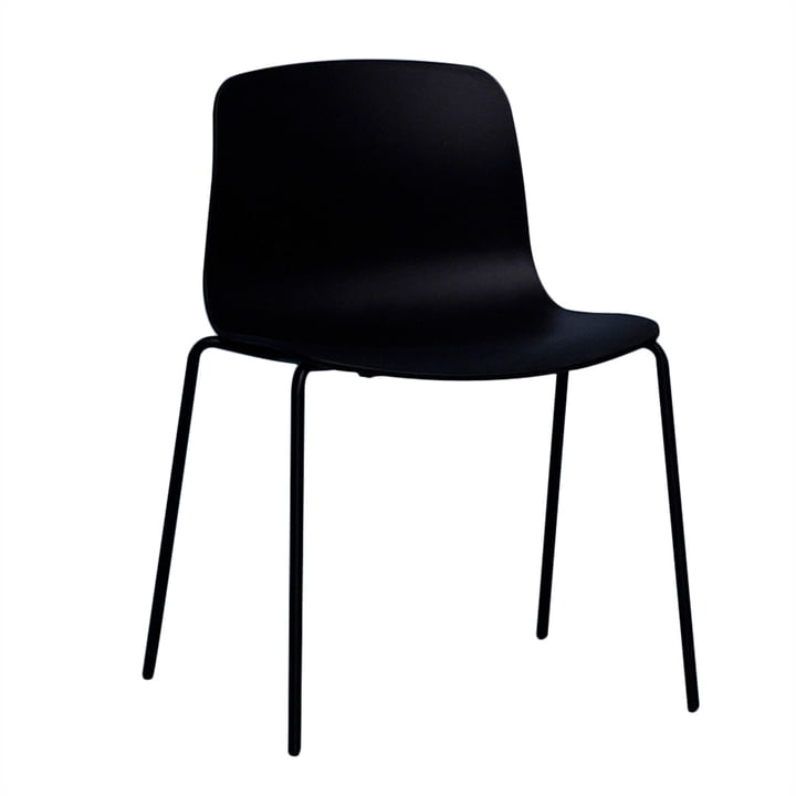 Hay - About A Chair AAC 16, aluminum black / black