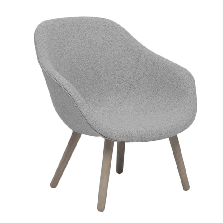 Hay - About A Lounge Chair, Low / AAL 82, Remix light gray (123)