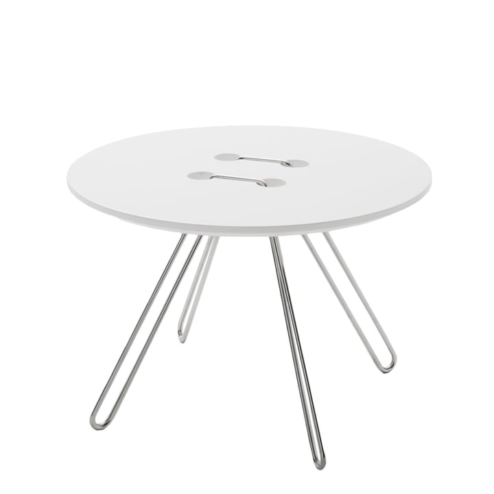 Casamania - Twine Side Table Ø 50 cm, white