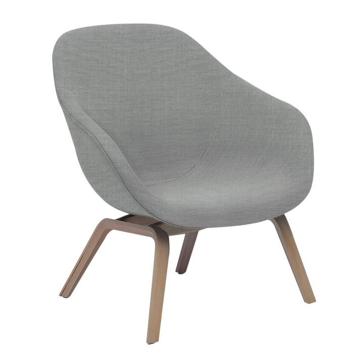Hay - About A Lounge Chair Low AAL 83 in Remix light gray 123
