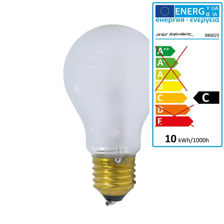 Halogen bulb for Birdie lamps 24 V, 10W by Ingo Maurer
