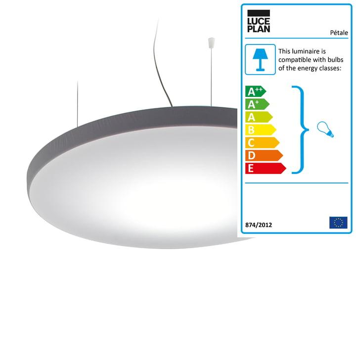 Luceplan - Pétale Pendant Lamp D71C, Ø 120 cm