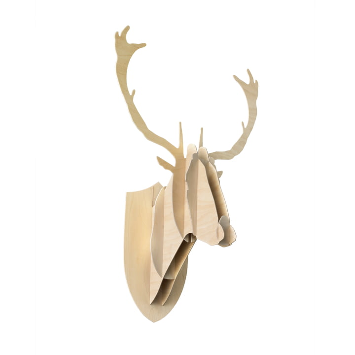 Moustache - Deer Trophy, plywood birch