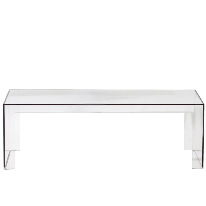 Kartell - Invisible Side Bench H 40cm, crystal clear