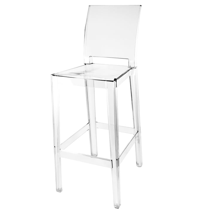 Kartell - One More, One More Please bar stool, square H 110