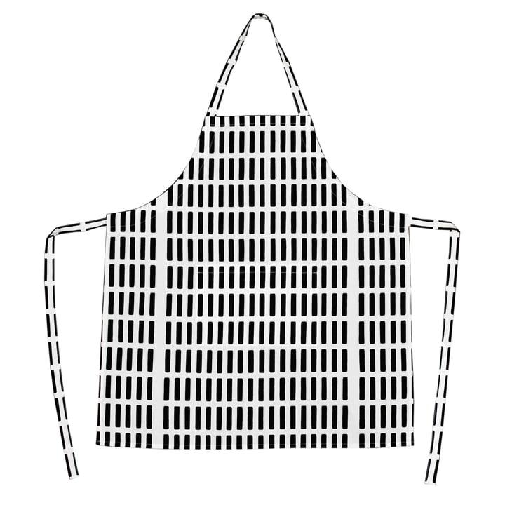 Artek - Siena apron, white/ black