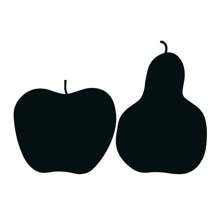 """Danese Milano - graphic """"Tre, la mela e la pera"""""""