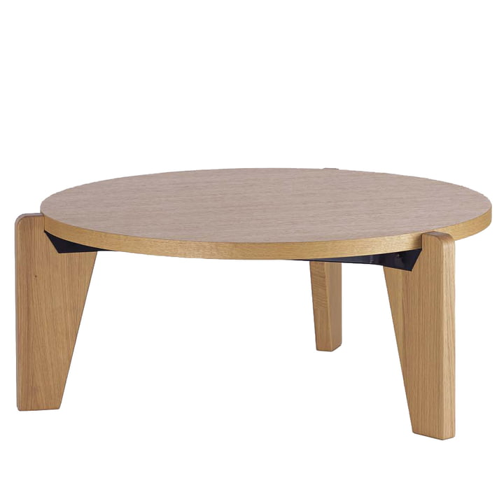 Vitra - Guéridon Bas coffee table, natural oak