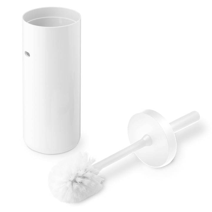 Lunar toilet brush by Depot4Design in white