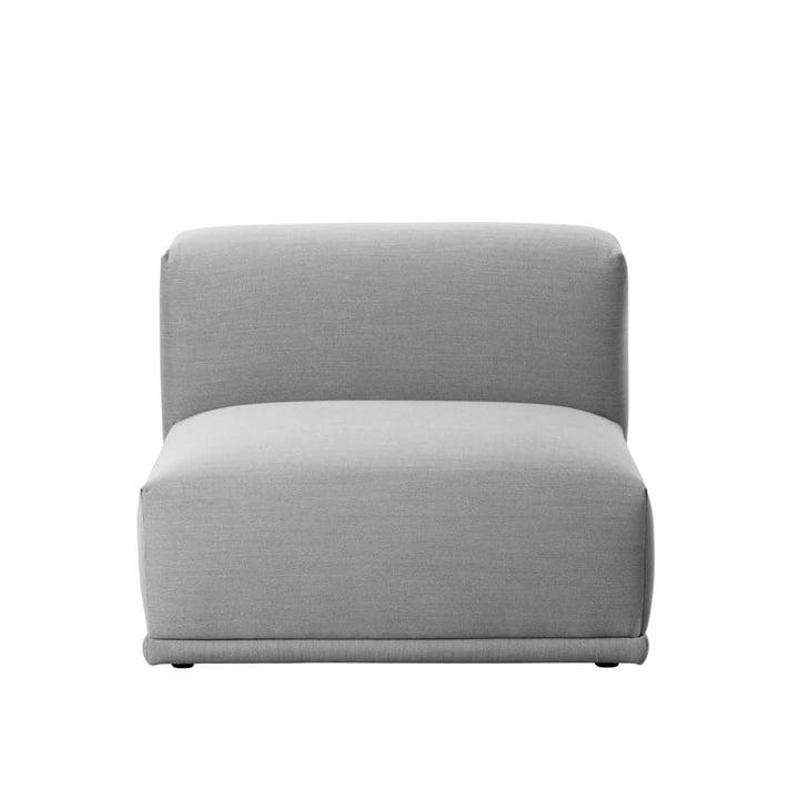 Muuto - Connect Sofa, Einzelelement, kurz, Remix 123