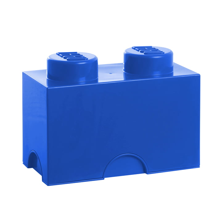 Lego - Storage Brick 2, blue