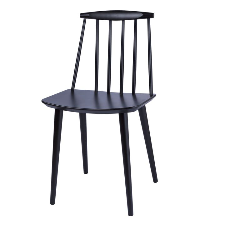 J77 Chair by Hay in black