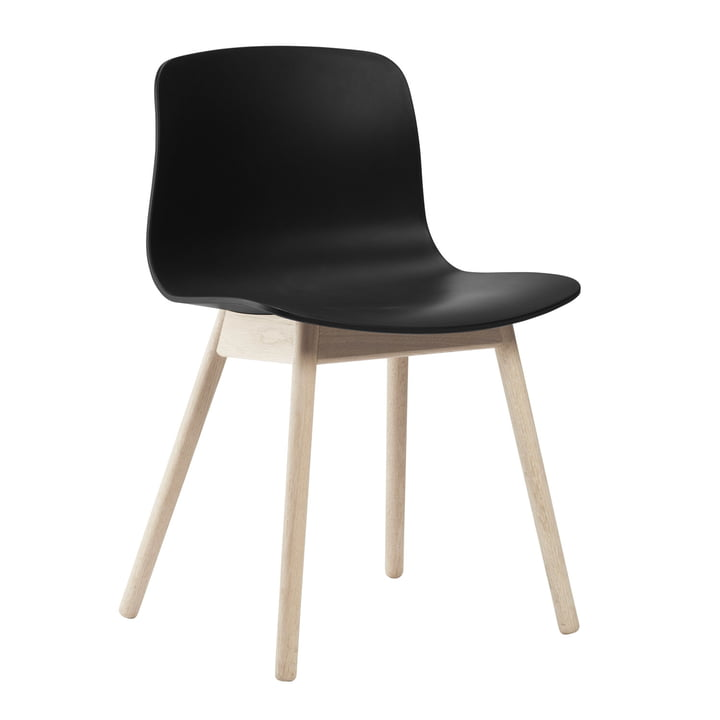 About A Chair AAC 12 by Hay in soaped oak / black