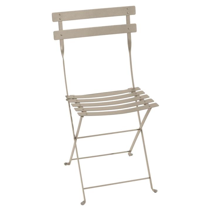 The Fermob - Bistro folding chair metal, nutmeg