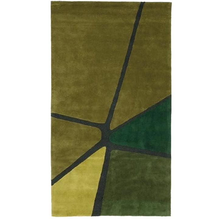 Ruckstuhl - Crack Rug, olive green